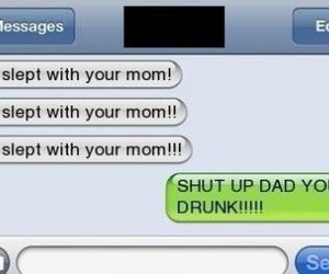 chat, dad, and funny image