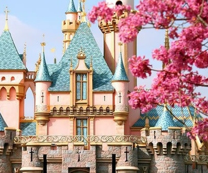 adorable, castle, and disney image