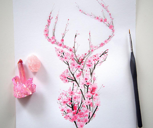 draw, pink, and beautiful image