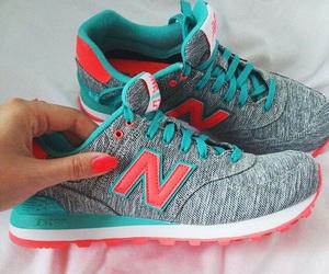 shoes, new balance, and nike image
