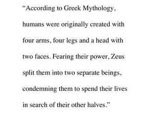 love, quotes, and greek image