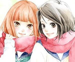 manga, omoi omoware furi furare, and anime image