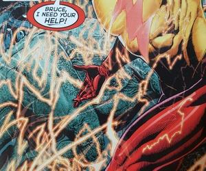 batman, comics, and flash image