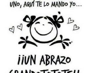 abrazo, amistad, and frases español image