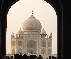 agra, heat, and india image
