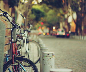 bicycle, calle, and hbw image