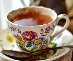 cup of tea, tea, and drink image