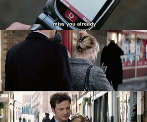 bridget jones, Colin Firth, and Renee Zellweger image