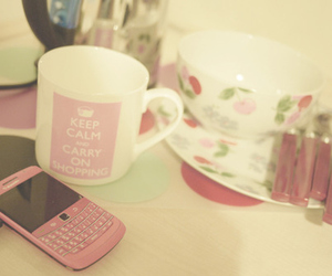 pink, keep calm, and blackberry image