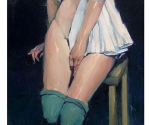 aesthetic, malcolm liepke, and art image