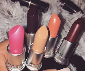 girls, lipstick, and makeup image