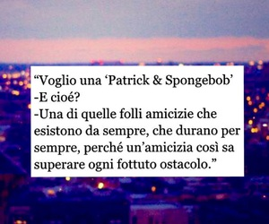 frasi, spongebob, and amicizia image