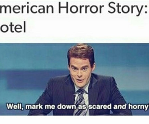tumblr, text post, and ahs image