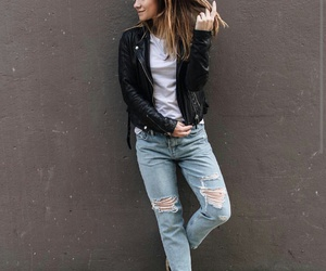 fashion, outfit, and rocker image