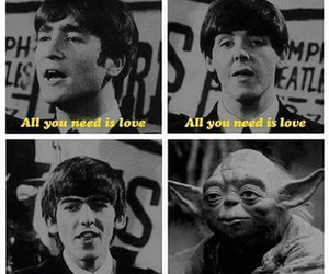 funny, john lennon, and music image