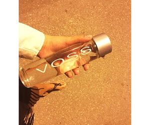 dress, water, and voss image