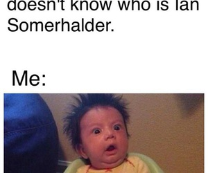 funny, ian somerhalder, and tvd image