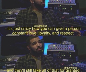 quotes, Drake, and love image