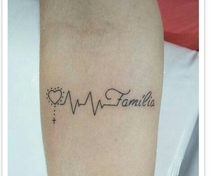 familia, ink, and tatto image
