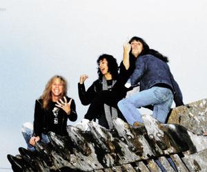 James Hetfield, metallica, and cliff burton image
