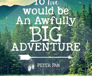 quotes, nature, and peter pan image