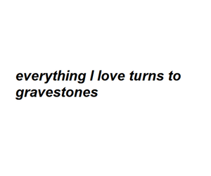 death, gravestone, and sad image