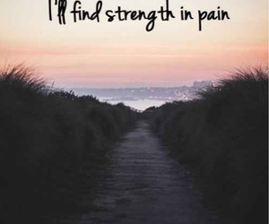 pain, strength, and support image