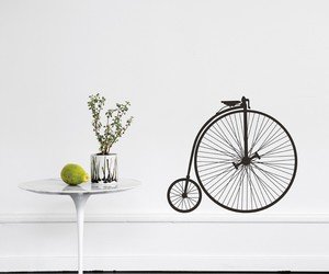 bicycle, interior design, and room image