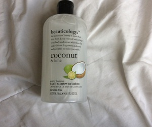 bedsheets, coconut, and lime image