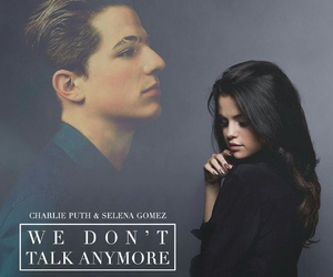 charlie puth, selena gomez, and we don't talk anymore image
