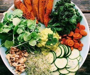 healthy, vegan, and veggie image