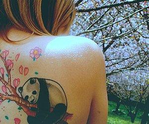 girl, tatto, and manuwz image
