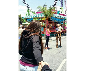 six flags, the best, and love image