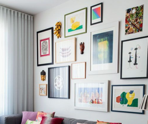 home decor, picture frames, and living room image