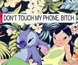 wallpaper, lilo, and stitch image