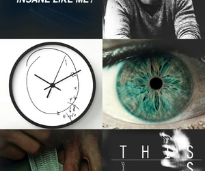 aesthetic, blue, and will graham image