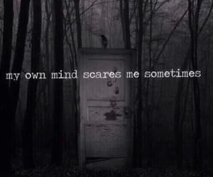 mind, dark, and grunge image