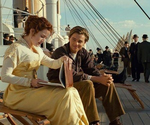 titanic, love, and story image