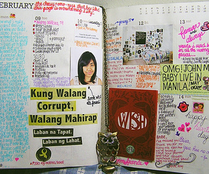 agenda, funny, and planner image