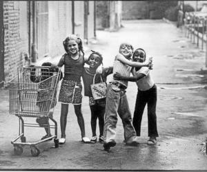 kids, photo, and vintage image