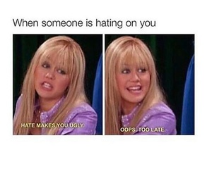 funny, true, and hannah montana image