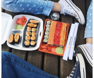 converse, follow, and food image