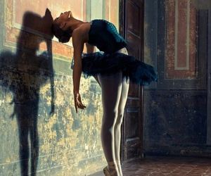 dance, ballet, and sad image