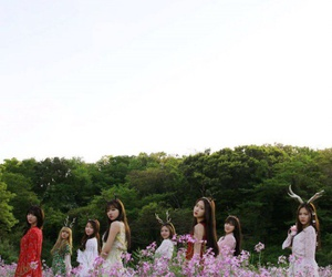 oh my girl, OMG, and kpop image