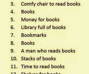 books, goals, and reading image