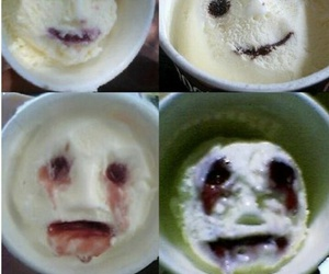 funny, ice cream, and wtf image