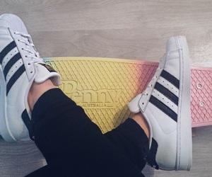 adidas, girls, and Originals image