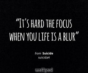 quote, wattpad quote, and sad image