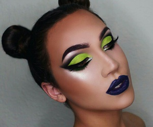 beauty, look, and makeup image