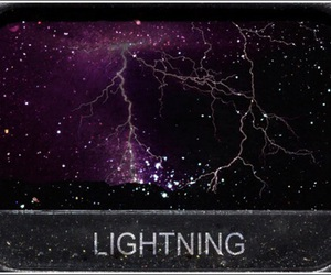 purple, theme, and lightning image